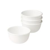 Corelle Livingware 350ml Soup/Dessert Cup, White, Set of 4 by Corelle Coordinates