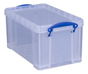 Really Useful Box 8 Litre Open-Fronted Storage Box - Clear