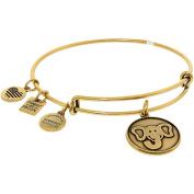 Alex And Ani Women's Elephant Friends Of Jaclyn Rafaelian Gold Charm Bracelet - 20cm