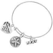 """""""The Ledgend Of The Sand Dollar"""" Christian, 3 Charm Adjustable Hypoallergenic,Safe-Nickel,Free"""