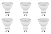 6x Sylvania RefLED ES50 V4 5W GU10 LED non-dimmable light bulb lamp 840 cool white