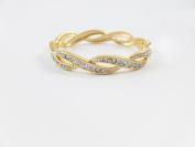 Amtal Women Infinity Design Gold Looking Bracelet Fashion Jewellery