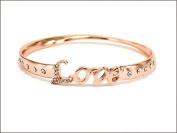 Bracelet-Love Bangle-Rose Gold