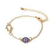 Stylish Evil Eye Blue Bracelet or Anklet Jewellery - Good Luck Charm