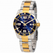 Longines Hydroconquest Blue Dial Automatic Mens Two Tone Watch L37423967