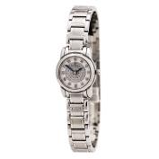 Bulova 96P143 Women's Highbridge Quartz Diamond Engraved Silver Dial Steel Bracelet Watch