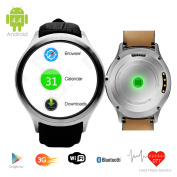 Indigi® (Factory Unlocked 3G) Smartwatch & Phone Android 4.4 KitKat w/ WiFi Access+ Google Maps + Built-In Camera