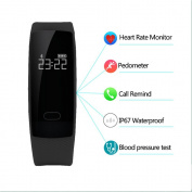 Smart Wristband QS80 Bluetooth Smart Watch Bracelet Fitness Heart Rate Wristband Sleep Monitor For Android IOS