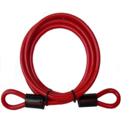 The Club 3m Security Cable, Red