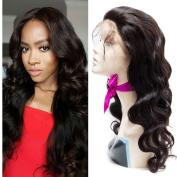 VIPbeauty Peruvian Virgin Human Hair Lace Human Hair 360 Lace Frontal Wigs Peruvian Body Wave Lace Front Wig Glueless Lace Wig -60cm