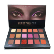 Weicici 18 Colours Eye Shadow Palette Shimmer & Matte Eyeshadow Brilliant Beauty Makeup for the Eye Cosmetics