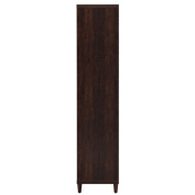 Coaster Tall Cabinet in Rustic Tobacco