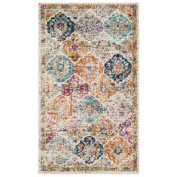 Safavieh MAD611-6 Madison 2.1m X 2.7m Rectangle Synthetic Power Loomed Medallion Are