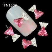 Profusion Circle 10pcs 3D Fashion Nail Art Jewellery Rhinestones Glitter Tips DIY Nail Art Design Accessories