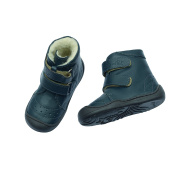 Anna und Paul 8016/18 Winter Snow Boots Booties Fur Lined in Navy Blue