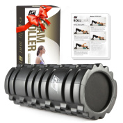 RitFit Foam Roller, Trigger Point massage for Painful, Tight muscles, Smooth Rollers for Rehabilitation, Best Muscle Massage & Deep Tissue Trigger for Muscle Therapy, Mobility & Flexibility