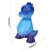 12*7cm Galaxy Dinosaur Squeeze Toy,Luoluoluo Jumbo Squishy Jumbo Scented Cream Super Slow Rising Squeeze Toys Educational Toy Release Stress Toy