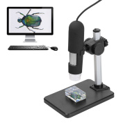 Tutoy Usb 1000X 8 Led Digital Microscope Endoscope Magnifier Camera With Adjustable Stand