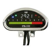 MCS Electr CNC Aluminium Speedometer (Kmh) - Univ. .