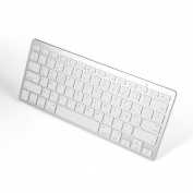 Spanish Keyboard, Bluetooth Ultra Slim Keyboard 78-key for Windows 2000, NT, XP, Vista, Mac iOS, iPad, iPhone iOS 4.0.