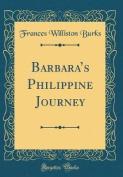 Barbara's Philippine Journey