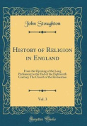 History of Religion in England, Vol. 3