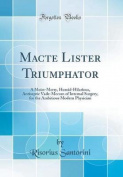 Macte Lister Triumphator
