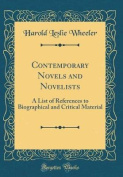 Contemporary Novels and Novelists