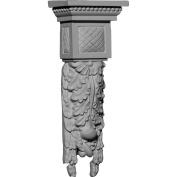 Ekena Millwork Hampshire 28cm H x 11cm W x 6.4cm D Large Drop Corbel