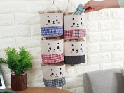 Wall Hanging Storage Bag Organiser Toys Container Pocket Pouch Fashion