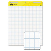 Post-it Self-Stick Easel Pads, 60cm x 80cm , Yellow with Faint Rule