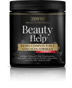 Beauty Help Strawberry ULTRA-COMPLEX 9-IN-1 COLLAGEN FORMULA