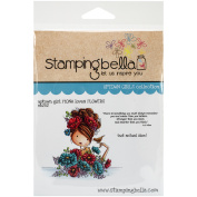 Stamping Bella Cling Stamps-Fiona Loves Flowers