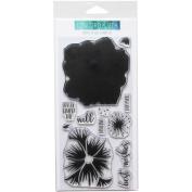 Concord & 9th Clear Stamps 10cm x 20cm -Pretty Petals
