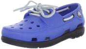 Crocs - Kids Unisex Beach Line Boat Shoe Kids J Shoes, UK