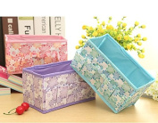 Makeup CosmeticToiletry Storage Box Container Case Organiser Folding Multifunction