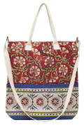 Matr Boomie Tote Bag, Scarlet and Sand