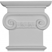 Ekena Millwork Classic 20cm H x 21cm W x 4.4cm D Ionic Capital