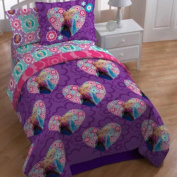 Jay Franco And Sons 17180955 Disney Frozen Twin Sheets Floral Elsa Anna Bedding