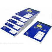 6 Sales Order Receipt Books Carbonless Record Sheets 14cm x 9.5cm
