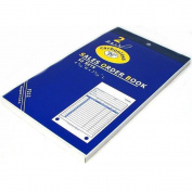 Sales Order Receipt Forms Carbonless Record Sheet Book 11cm x 18cm