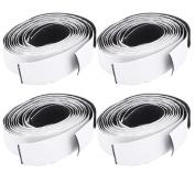 Self Adhesive Back Hook Loop Fastening Magic Tape Strip 50cm Long 4PCS