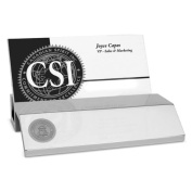 Kennesaw State Owls Silver Business Card Holder