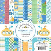 Doodlebug Double-Sided Paper Pad 15cm x 15cm 24/Pkg