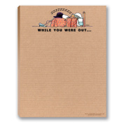 While You Were Out - Funny Note Pad