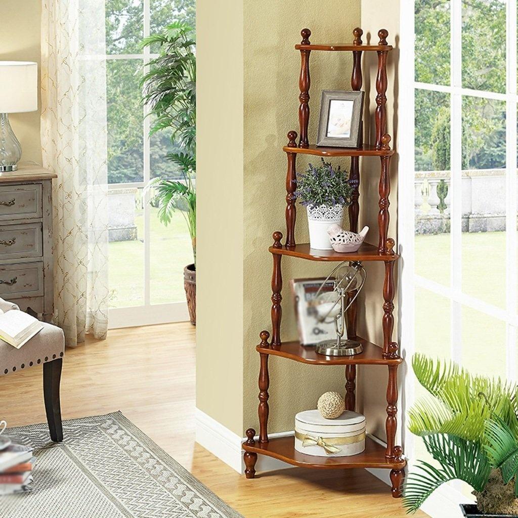 Bathroom Accessories Wooden Corner Shelf Living Room Bedroom