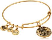 Alex and Ani Saint Christopher Expandable Charm Bracelet, Rafaelian Gold-Tone