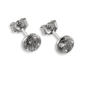 Earrings with Zirconia from 333 White Gold