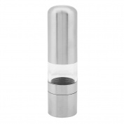 Demiawaking Stainless Steel Pepper Mill Spice Grinder Seasoning Muller Kitchen Tool