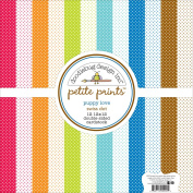 Doodlebug Petite Prints Double-Sided Cardstock 30cm x 30cm 12/Pk